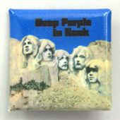 Deep Purple - 'In Rock' Square Badge